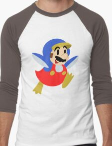 Little Penguin Mario Men's Baseball ¾ T-Shirt