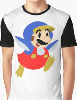 Little Penguin Mario Graphic T-Shirt