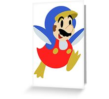 Little Penguin Mario Greeting Card