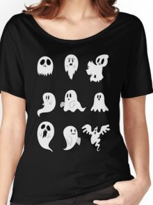 Nine Cute Little Ghosts Women's Relaxed Fit T-Shirt