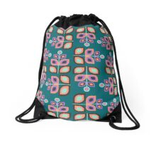 May Flowers Drawstring Bag