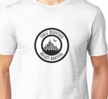 SMRocketArrivingMoon Unisex T-Shirt