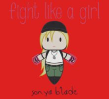 Fight Like a Girl - General Baby Tee