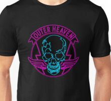 °METAL GEAR SOLID° Outer Heaven Neon Unisex T-Shirt