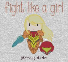 Fight Like a Girl - Intergalatic Bounty Hunter One Piece - Short Sleeve