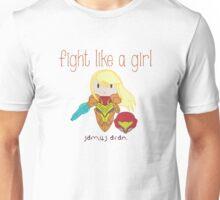 Fight Like a Girl - Intergalatic Bounty Hunter Unisex T-Shirt
