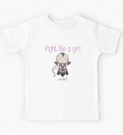 Fight Like a Girl - Mother Zombie Kids Tee