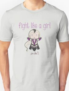 Fight Like a Girl - Mother Zombie Unisex T-Shirt