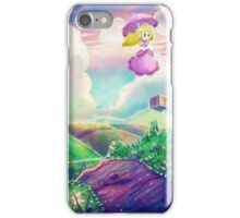 Princess Peach Landscape iPhone Case/Skin