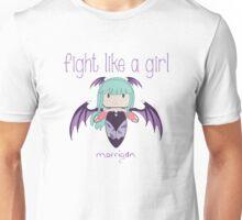 Fight Like a Girl | Demon Girl Unisex T-Shirt