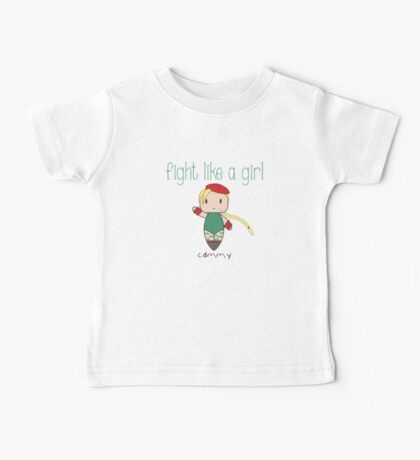 Fight Like a Girl - Fighter for the Queen Baby Tee