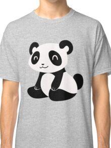 Happy Cartoon Panda Classic T-Shirt
