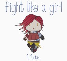 Fight Like a Girl | Fire Girl Baby Tee