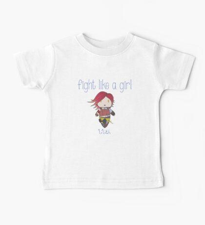 Fight Like a Girl | Fire Girl Baby Tee