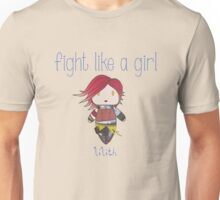 Fight Like a Girl | Fire Girl Unisex T-Shirt