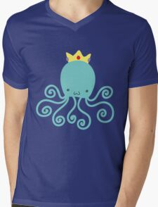 Princess Octopus Mens V-Neck T-Shirt