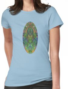 Fern detail Womens Fitted T-Shirt