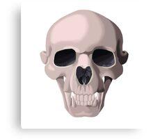 Hybrid Skull - Big Cat Canvas Print
