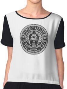 Miskatonic University Chiffon Top