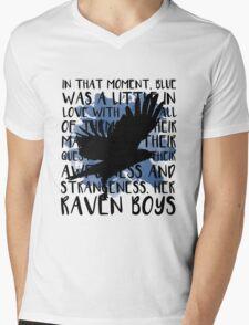 Her Raven Boys Mens V-Neck T-Shirt