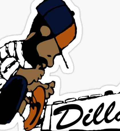 J Dilla - Today In Hip Hop History Sticker