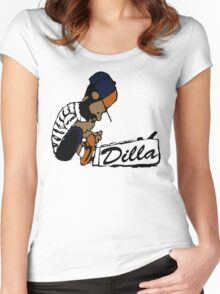J Dilla - Today In Hip Hop History Women's Fitted Scoop T-Shirt