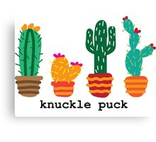 Knuckle Puck Cacti Canvas Print