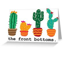 The Front Bottoms Cacti Greeting Card