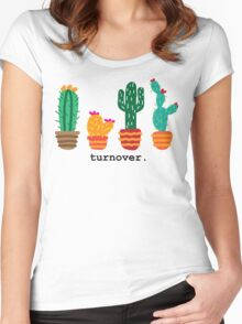 Turnover cacti Women's Fitted Scoop T-Shirt