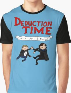 Deduction Time Graphic T-Shirt