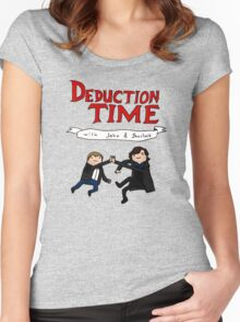 Deduction Time Women's Fitted Scoop T-Shirt