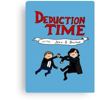 Deduction Time Canvas Print