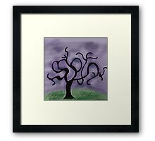 Midnight Tree Framed Print
