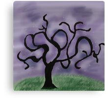 Midnight Tree Canvas Print