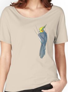 Normal Gray Cockatiel Women's Relaxed Fit T-Shirt