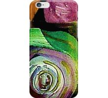 Stylized Roses Design iPhone Case/Skin