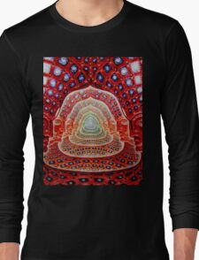 Alex Grey Colourfull 12 Long Sleeve T-Shirt