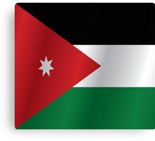 Jordan flag Canvas Print