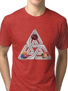 OPTICAL GARDENING Tri-blend T-Shirt