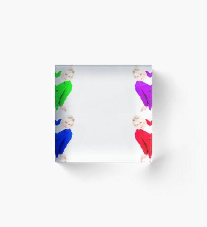 colouful Acrylic Block