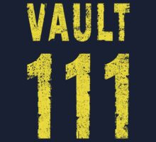 Vault 111 One Piece - Short Sleeve