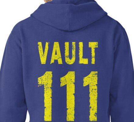 Vault 111 Pullover Hoodie