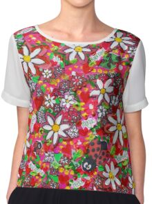 Daisy Power Chiffon Top