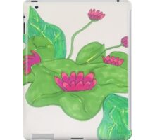 Lily Pad Designs iPad Case/Skin