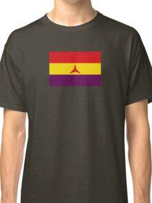 Spanish Republican Flag (Civil War) brigadas internacionales Classic T-Shirt