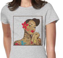 Bestie Womens Fitted T-Shirt