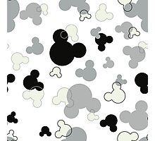 Hidden Mickey - Licorice Photographic Print