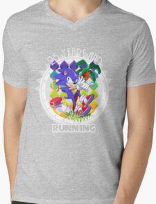 2½ Decades of Blast Processing Mens V-Neck T-Shirt
