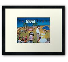 Showgirl Princess Framed Print