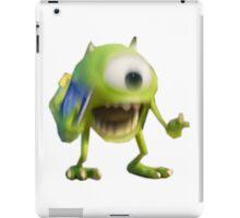 Blurry Mike Wazowski  iPad Case/Skin